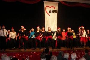 Dezember 2011: Winterfeier bei der AWO