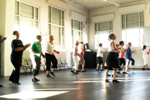 August 2012: Sommer-Step-Woche