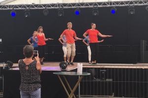 August 2018: Auftritt bei der Neureuter Kerwe