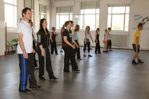 Juni 2013: Workshop mit Flo